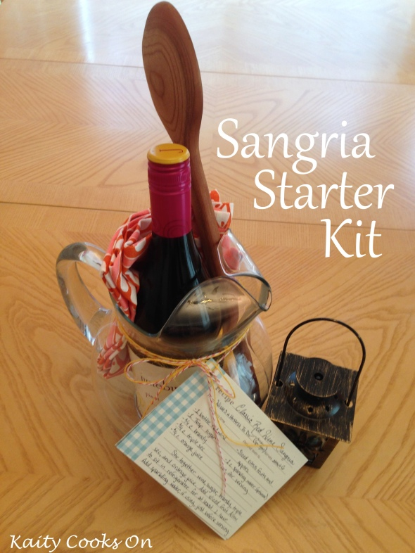 Sangria Starter Kit: Bridal Shower or Hostess Gift